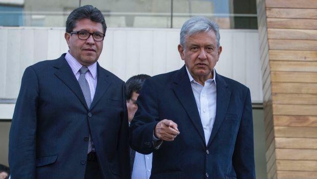 Ricardo Monreal y Andrés Manuel López Obrador
