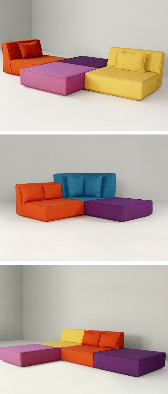 Die besten 25 modulares sofa ideen auf pinterest sectionals schlafsofa couchtisch Sofa minotti preise