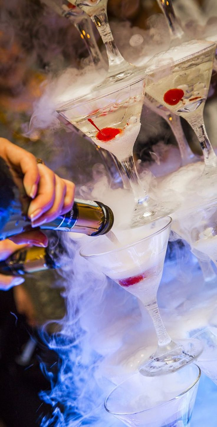 79 best Dry Ice Cocktails images on Pinterest