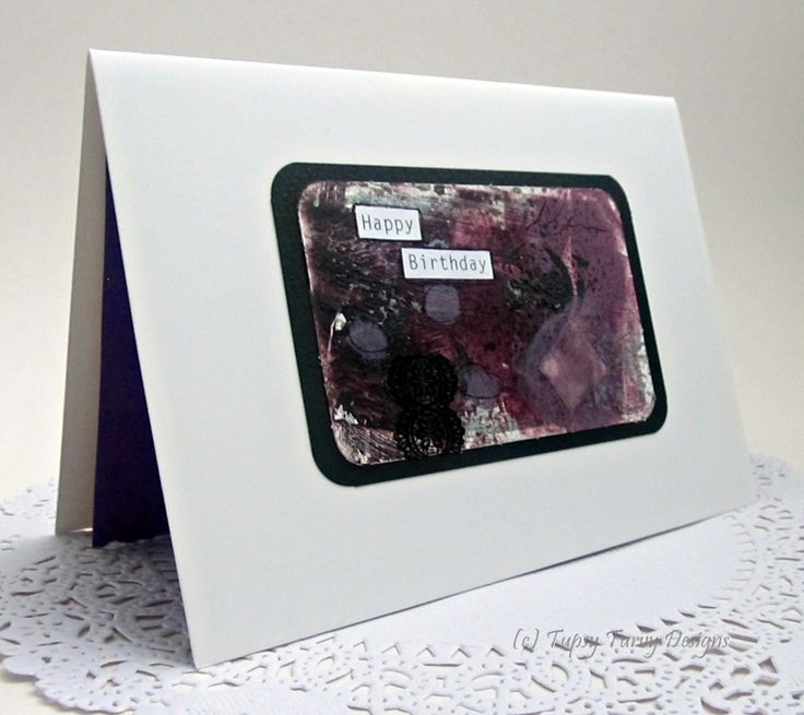 Using hues of purple