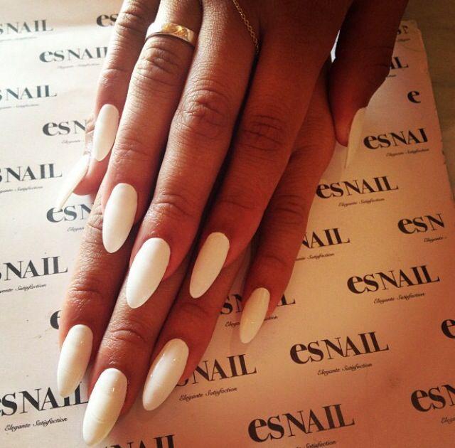 long white nails - esnail LA