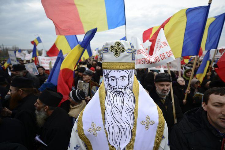 Bucharest Protest 14 March 2013. (  Octav Ganea / Mediafax Foto  )