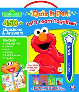 Sesame Street: Let's Learn Together: Quiz It Pen Box Set
