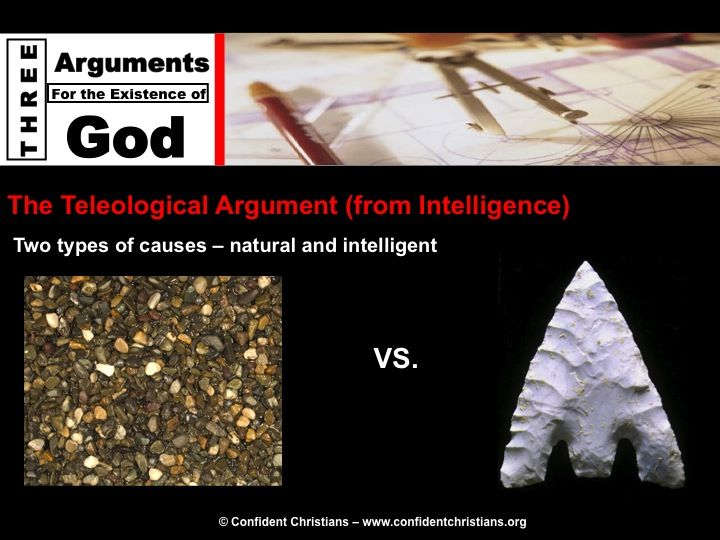 teleological argument for creation Philosophy essay: arguments for the existence of god thus the being responsible for the creation of nature the teleological argument while failing to provide.