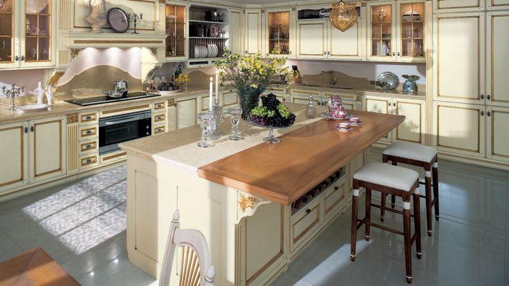 L Shaped Kitchen Designs With Breakfast Bar As Kitchen Design - küche mit weinkühlschrank