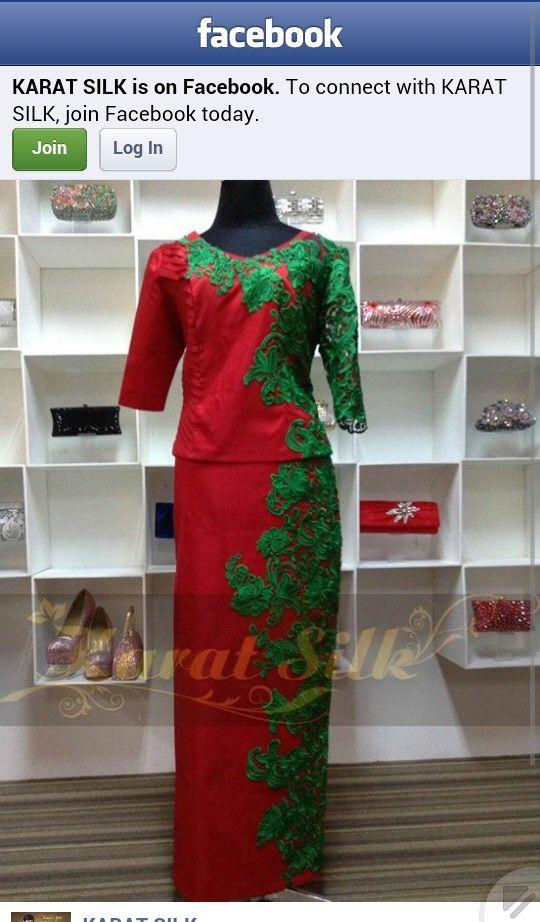 I like myanmar dress