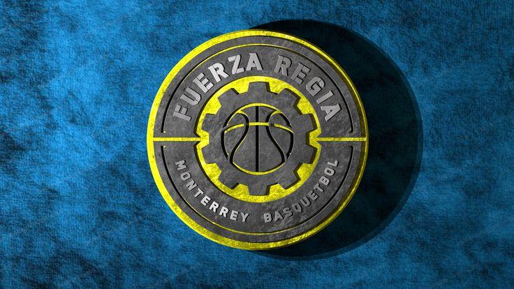Fuerza Regia Logo in Blue Velvet
