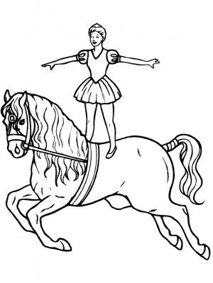 Circus coloring page 7