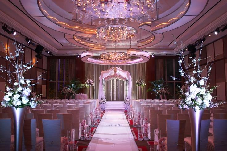 Elie Desche and Aria Zelnik Wedding | The Mandarin Oriental wedding chapel in Vegas is so gorgeous! It's expensive though.