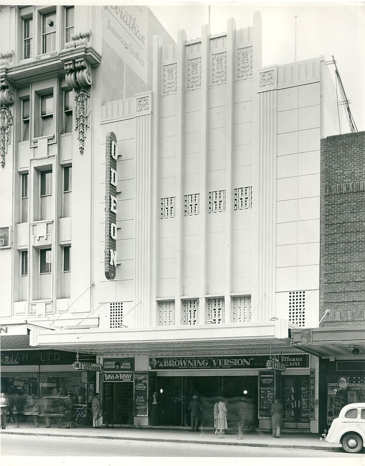 Odeon and Times theatre complex, Bourke St Melbourne