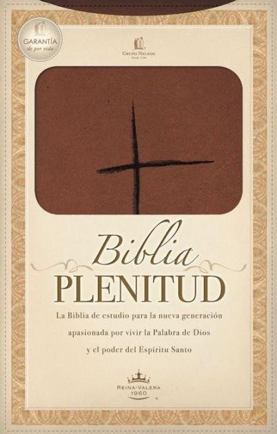 Spanish - RVR 1960 Spirit Filled Life Bible/Handy-Terracota LeatherSoft