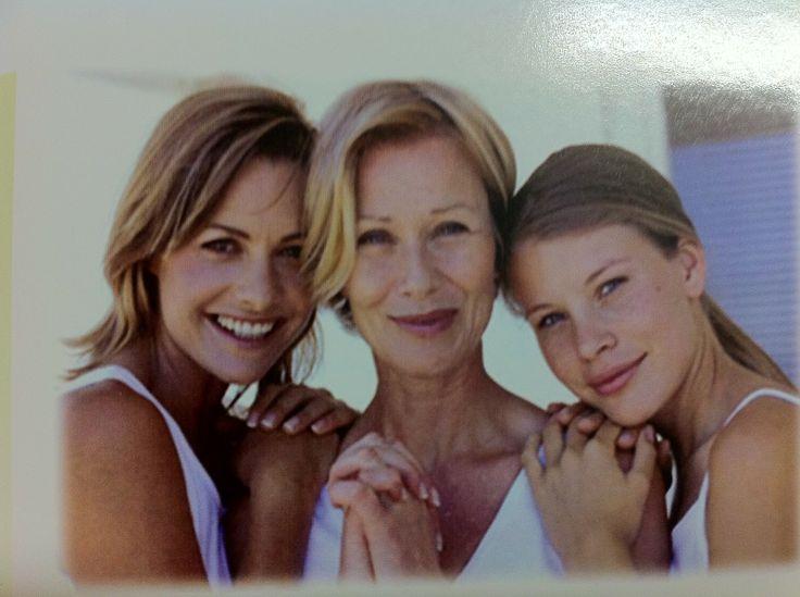 Mulheres de várias idades