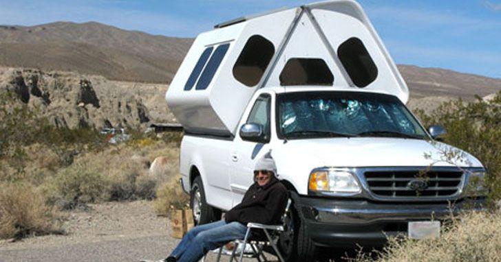 Pickup Camper #Survival #Preppers