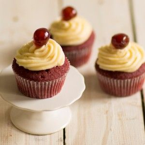 Red Velvet Red Nose Day Cupcakes WEB