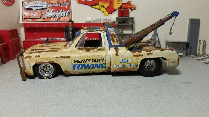 Custom Chevy wrecker