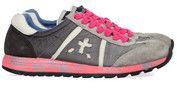 Grijze Premiata schoenen Lucy sneakers
