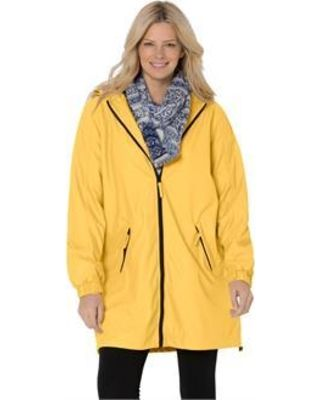 2 piece dress plus size raincoats
