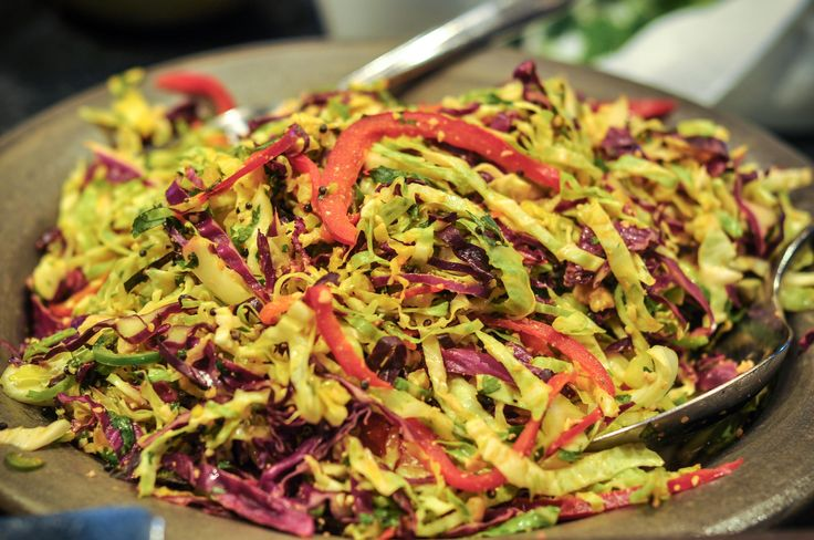 Simple recipe for Indian Slaw.  I think I'll try the Yellow Dal recipe, too.
