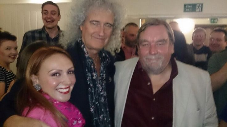 Truly amazing man & beautiful soul @DrBrianMay May the stars keep shining their light for you to make a difference x