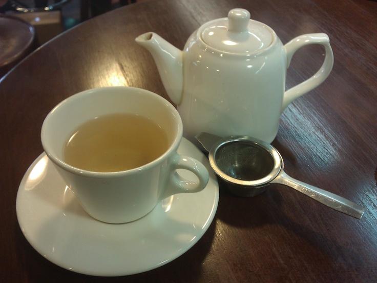 Bi Luo Chun (Green snail spring) green tea at SugarNSpice, Adelaide Street, Brisbane. www.earthlystore.com.au