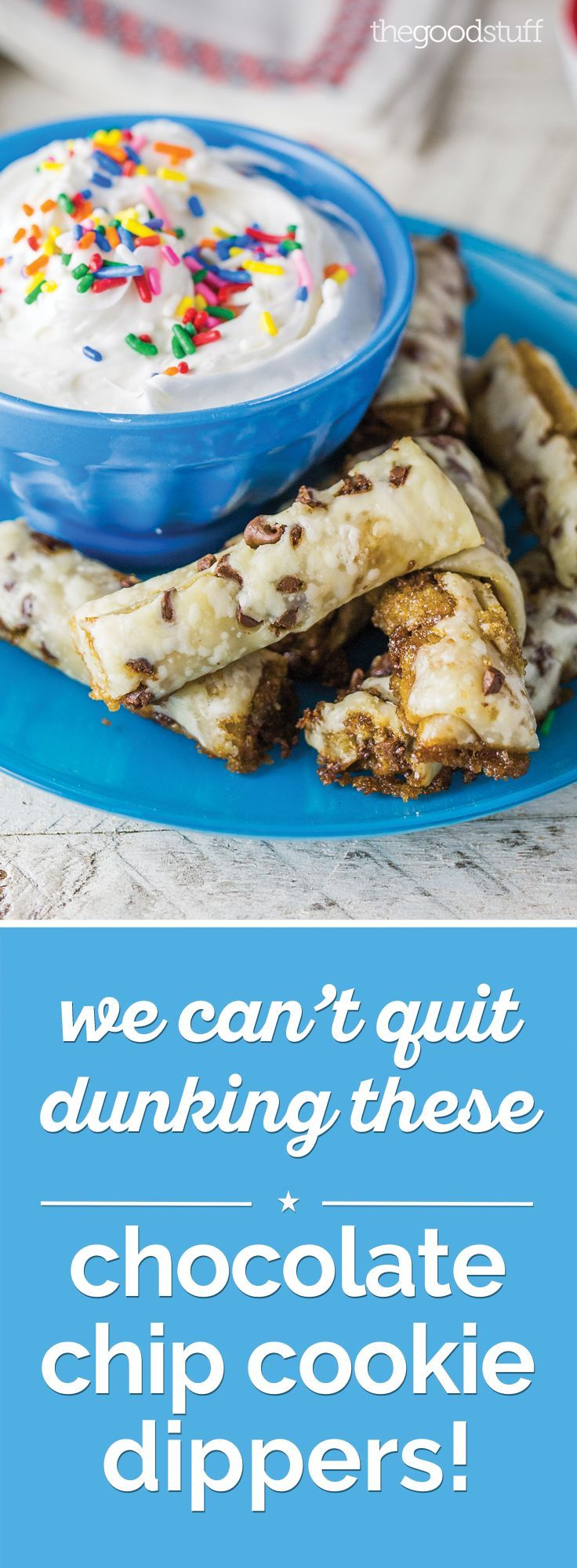 We Can't Quit Dunking These Chocolate Chip Cookie Dippers!