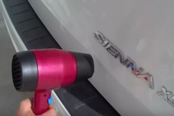 How To Use A Hair Dryer And Compressed Air To Fix A Small Dent Great Ideas Pinterest Cars Hair Dryer And Thoughts