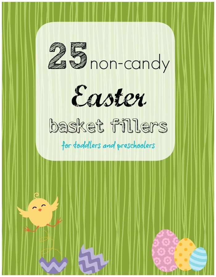 25 Non-Candy Easter Basket Fillers for Toddlers & Preschoolers - Eclectic Momsense #Easter