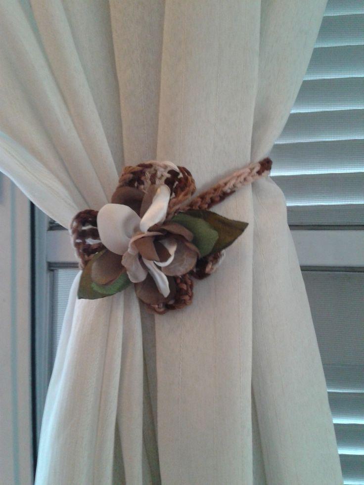 sujeta cortinas a crochet - Buscar con Google