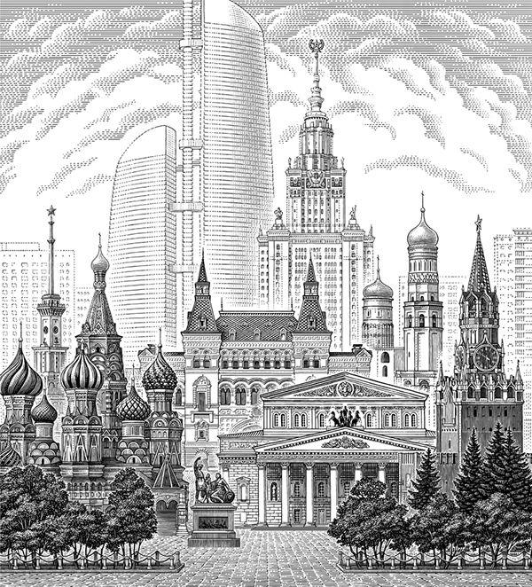 Illustrussia Gallery on Behance