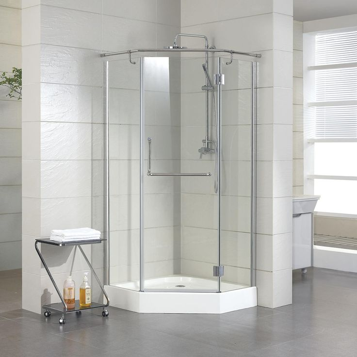 Photo : 36 X 36 Corner Shower Stall Images. 36 X Alver Neo Angle ...