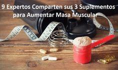 Descubre cuales son los mejores suplementos para aumentar masa muscular recomendados por expertos en el mundo del fitness y de la preparación física.  www.tuconsejerofitness.com/suplementos-para-aumentar-masa-muscular/