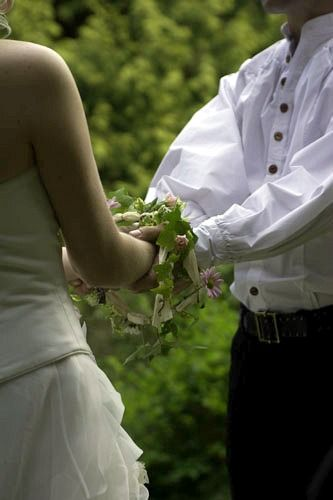 Irish Handfasting - I really want to do this okay