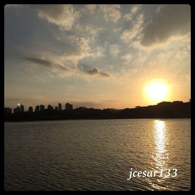 Por do Sol - Parque Barigui