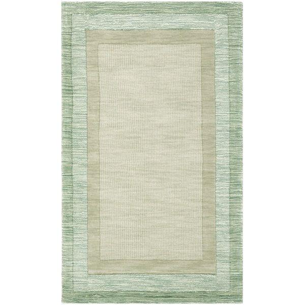 Impressions Green / Beige Indoor Rug