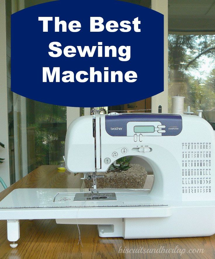 best sewing machine on the market