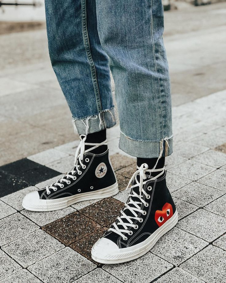 The Chuck Taylor x CDG Play! #ForeverChuck #ConverseStyle