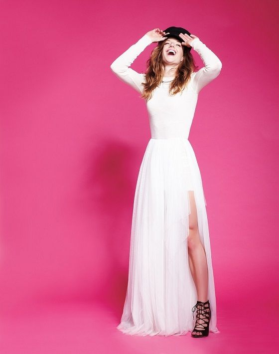 Olympic swimmer Katinka Hosszu #styledbyzipy #weddingdress #hat #fashion