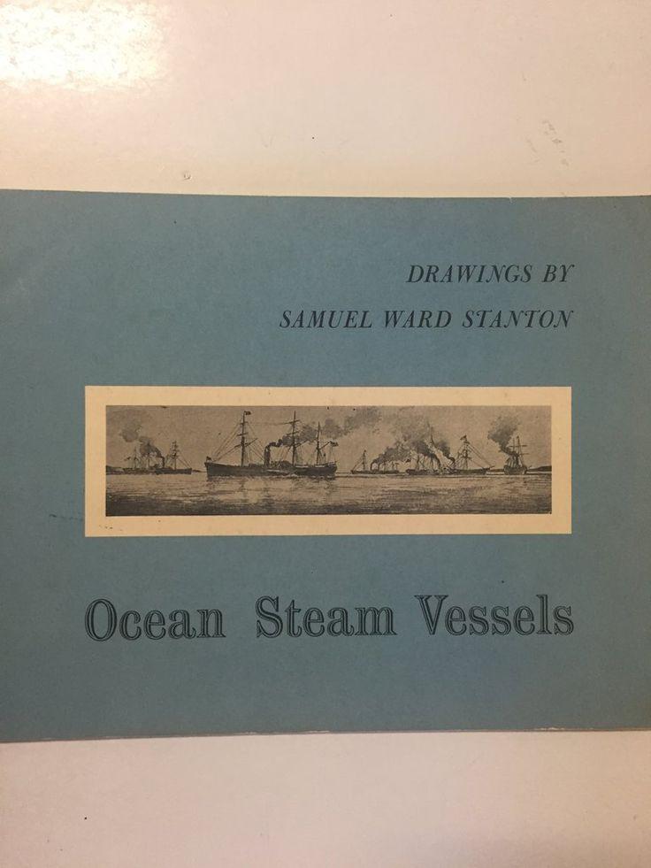 Ocean Steam Vessels Drawings by Samuel Ward Stanton