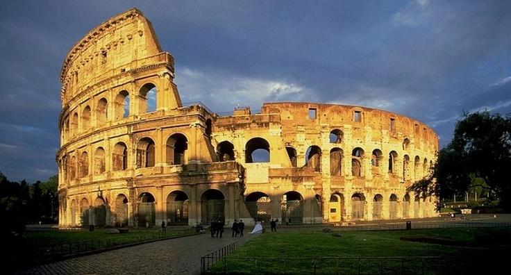 Roman Colloseum italy