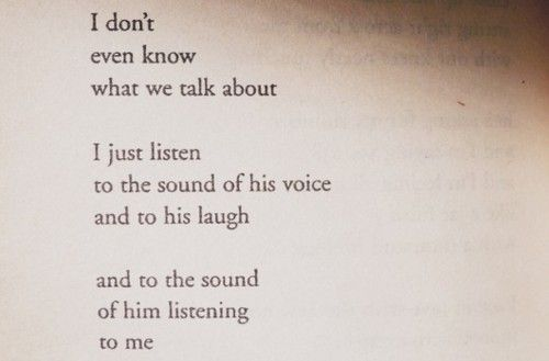 From a book of poems a woman wrote about her life. Absolutely love this and is so true.