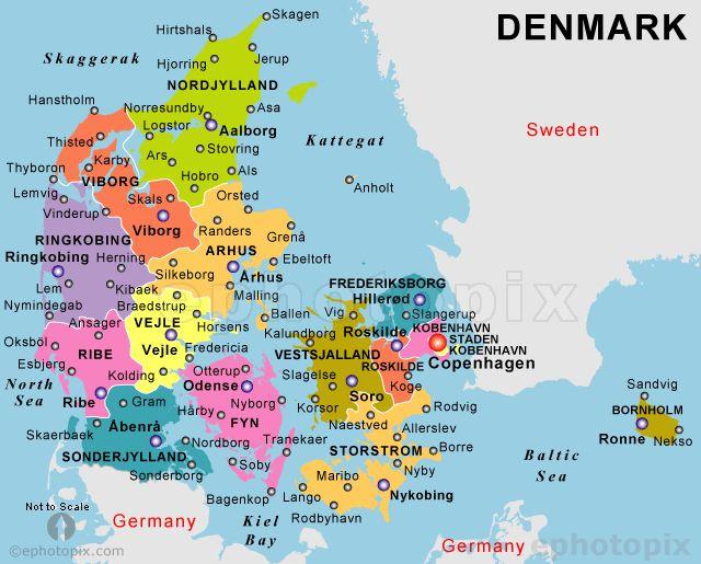 Best Map Of Denmark Ideas On Pinterest Denmark Map Denmark - Denmark map