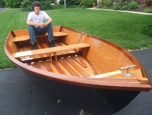13 Sissy Do - flat-bottom rowboat-www.boatdesigns.com | Boat Plans for Outboard Power | Pinterest