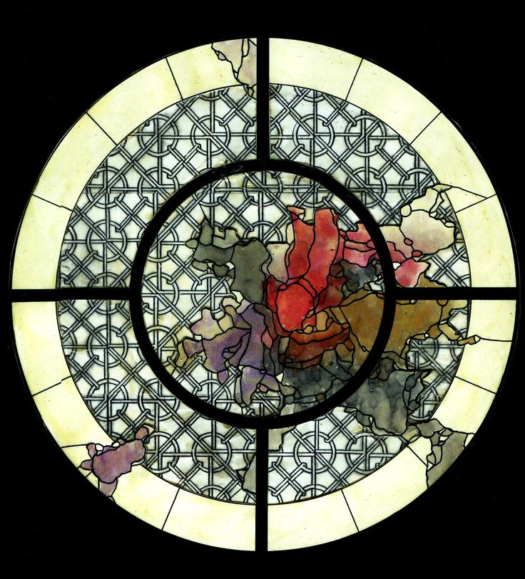10 best stained glass inspiration images on pinterest for Rose window design