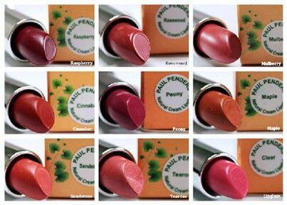 Pure natural organic lipstick by paul penders! 100% vegan!  www.nuranature.com