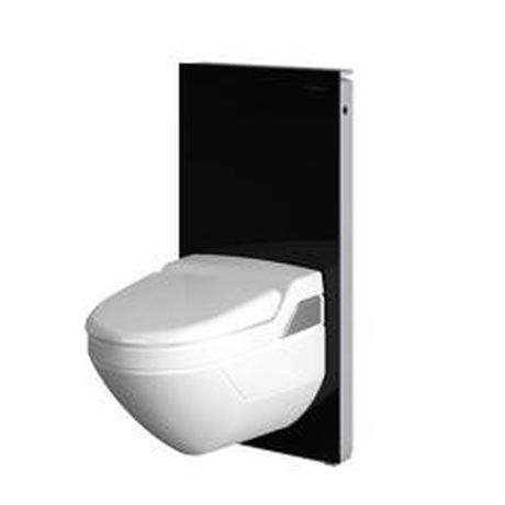 Moduł sanitarny do WC GEBERIT MONOLITH h=101 szklo czarne 131.022.SJ.1 Arenalazienek.pl