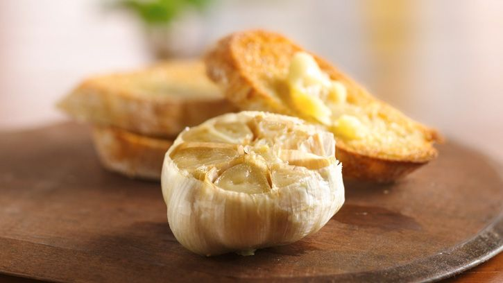 In three simple steps, learn how to turn garlic into a creamy, decadent spread to serve at parties or as an anytime appetizer.