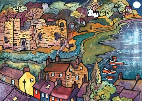 'Under Milk Wood' Laugharne by Dorian Spencer Davies