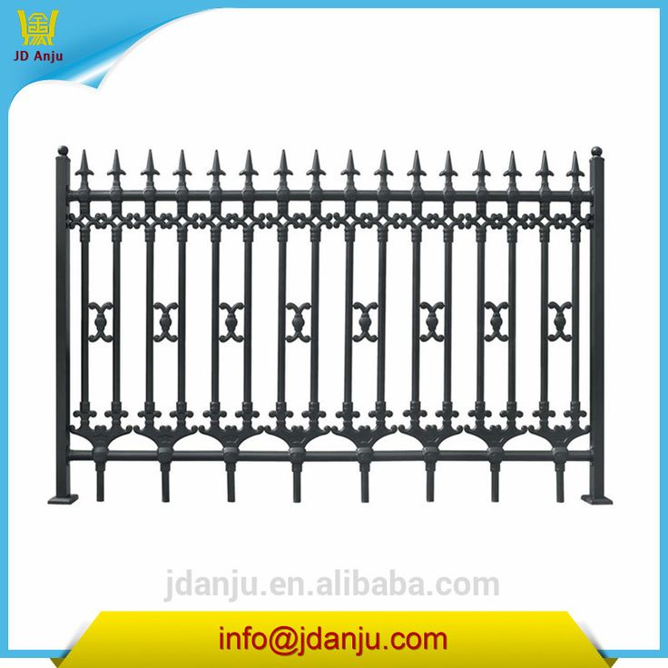 Cheap wrought iron fence panels for sale Model 001