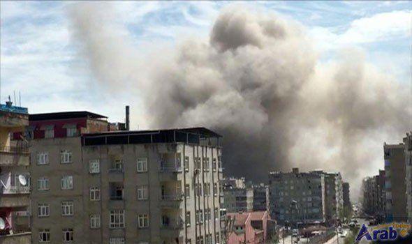 4 hurt in explosion in Turkey's Diyarbakir
