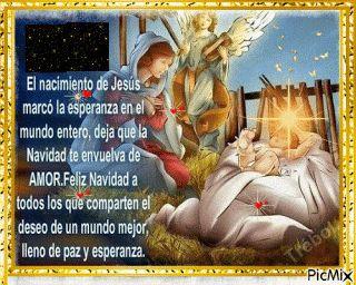 LA CASA DE ENSEÑANZAS Y ENTRETENCIÓN INFANTIL.: FELIZ NAVIDAD...UN DÍA COMO HOY... JESÚS NACIÓ POR...